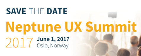 Neptune UX Summit |1 de junio 2017