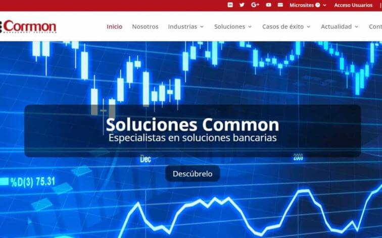 Nueva web de CommonMS